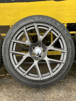 "20"" Dodge Challenger ScatPack Rims and Tires for Sale in San Antonio, TX"