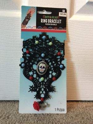 Day of the dead ring bracelet for Sale in Hanscom Air Force Base, MA