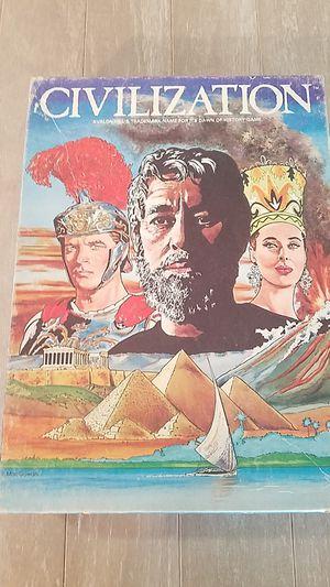 Civilization 1981 board game for Sale in Suisun City, CA