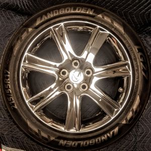 📸📣Lexus Chrome 17 inch Wheels 🎬 (All 4 Rims & Tires) 📽Must See❗ for Sale in San Antonio, TX