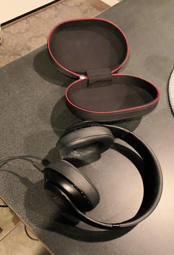 Beats Studio 2 Wireless B0501 Over-Ear Headphones Matte Black
