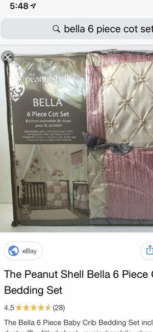 "Baby crib bedding "" the peanutshell BELLA"" for Sale in Abilene, TX"
