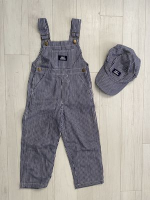 Hickory overalls striped bibs 4-6 years old for Sale in Colton, OR