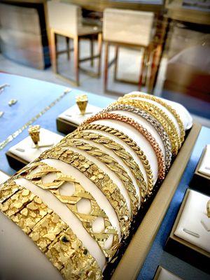 NEW! Italian 10k & 14k Gold Bracelets for Sale in Flint, TX