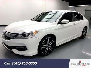 2017 Honda Accord Sedan for Sale in Stafford, TX