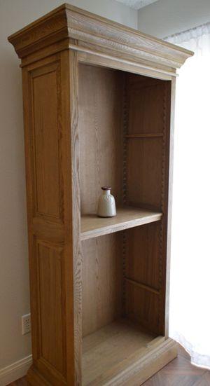 Large Sturdy Wood Shelf (Needs shelving.) for Sale in Las Vegas, NV