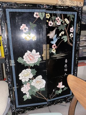 Early 20th century inspired antique cabinet for Sale in Rancho Cucamonga, CA