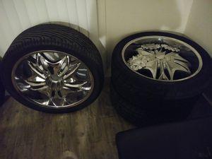 Viscera 24 inch rims for Sale in Orlando, FL