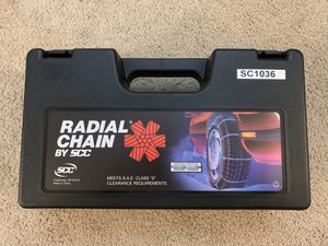 Snow chain - RADIAL CHAIN SC1036 for Sale in Newark, CA