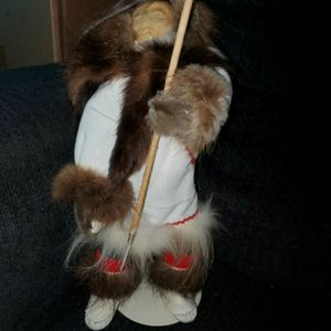Vintage Native Doll And Knife for Sale in Las Vegas, NV