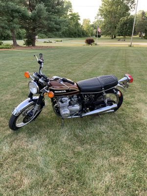 Honda motorcycle CB 1976 550 four for Sale in Homerville, OH