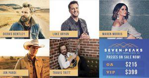 Seven Peaks Music Festival for Sale in Colorado Springs, CO