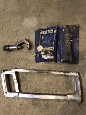 Pipe Cutter and Flaring Kit for Sale in Troutdale, OR