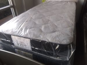 "New 10"" twin mattress and box spring for Sale in Las Vegas, NV"
