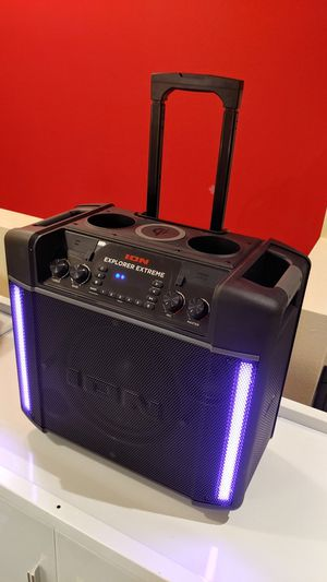 ION Explorer Extreme -- Powerful Water Resistant Portable Wireless Bluetooth Speaker with LED Light & Wireless Charging for Sale in Bellevue, WA