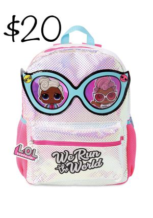 Lol Surprise Doll Girls We Run The World Backpack L.O.L for Sale in Fort Lauderdale, FL