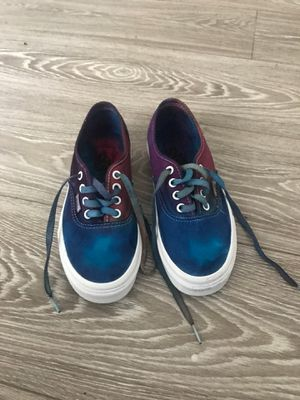 Brand new 4.5 selfmade🙌🏾 tiedied vans for Sale in Los Angeles, CA