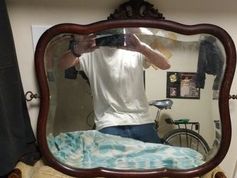 Antique Mirror Bevel Cut Front for Sale in Dundalk,  MD