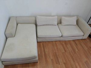 Large White Sectional Couch for Sale in Oakland, CA