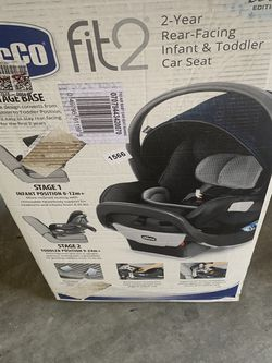 Chicco Fit2 Air Infant And Toddler Car Seat for Sale in Fresno,  CA