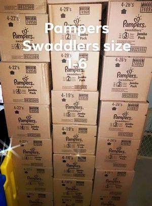 Pampers Swaddlers diapers size 1-6 ***Must See!!!*** for Sale in Rolling Hills Estates, CA
