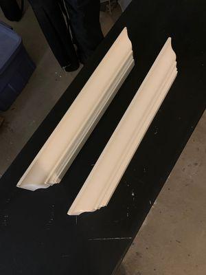 2 white ledge shelves for Sale in Laguna Niguel, CA