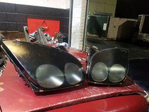94-98 3000gt headlights. Lexan. Black for Sale in Lilburn, GA