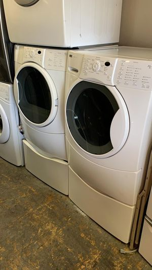 Kenmore Elite Washer and Dryer set w/Pedestals for Sale in Passaic, NJ