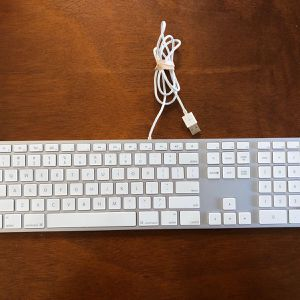 Apple USB wired Keyboard With Numeric Keypad for Sale in Austin, TX