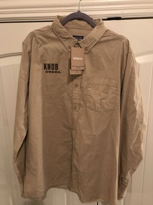 Men's XL Patagonia Long sleeve Bluffside Cord Shirt for Sale in Saginaw, TX