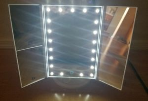 Bestope LED Lighted Vanity Makeup Mirror New! for Sale in Ridgecrest, CA