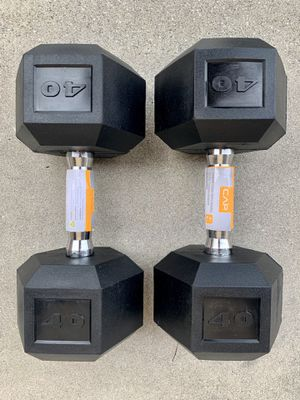 Weights CAP 40 lbs dumbbell set for Sale in West Covina, CA