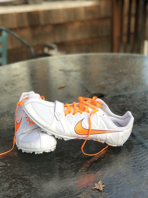 Nike Sprint Track spikes/shoes. Men's size 10.5 for Sale in Tacoma, WA