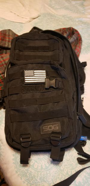 Sog hydration tactical backpack for Sale in Bellflower, CA