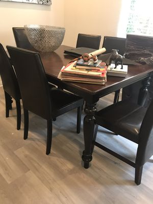 Beautiful real wood dining table for Sale in San Diego, CA