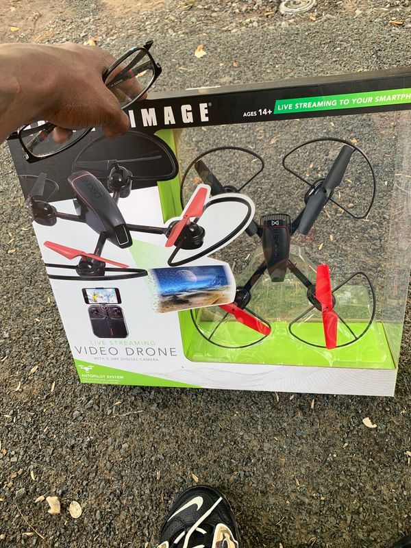 Video drone live streaming