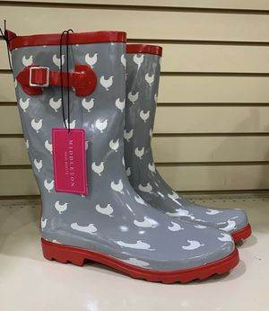 Middleton Rain Boots Size 9 for Sale in Mesquite, TX