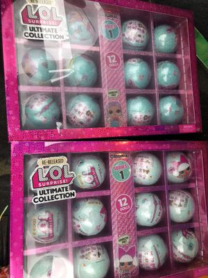 NEW Limited 2020 LOL Surprise series 1 Ultimate Re-released Collection 12 Balls Doll for Sale in Miami, FL
