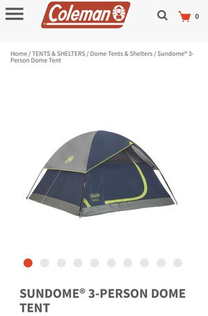 Like New Coleman Tent for Sale in Chicago, IL