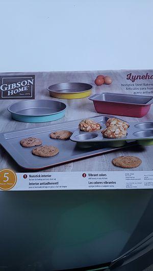 Lyneham nonstick Bakeware set 5 pieces for Sale in Sunrise, FL