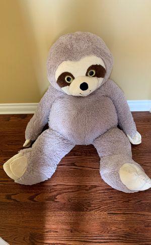 Big Sloth stuffed teddy bear for Sale in Chicago, IL