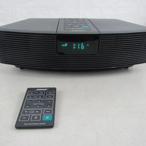 Bose Wave Radio Model AWR1-1W AM FM Stereo Alarm Aux & Remote Black for Sale in Springfield, VA