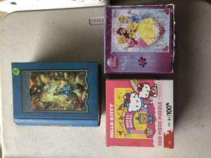 3 children's puzzles (1 brand new) for Sale in McKinney, TX