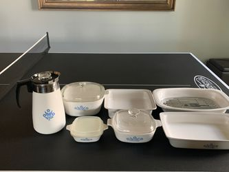 Blue sunflower Corningware-7 pieces for Sale in AZ,  US