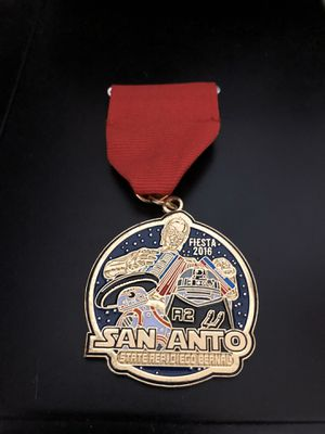 Very Rare Fiesta Medal State Rep Diego Bernal 2016 for Sale in San Antonio, TX