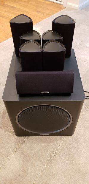 Polk Audio 7.1 (RM7, RM8, PSW110) sound system for Sale in Woodbridge, VA