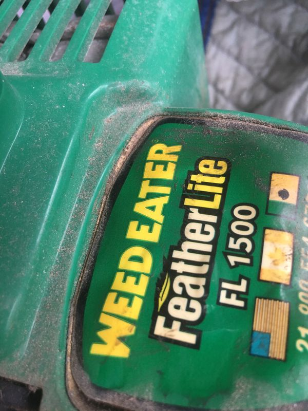 Weedeater FL 1500 AS IS leaf blower AS-IS