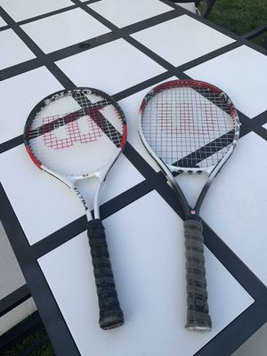 2 tennis rackets for Sale in Chicago, IL