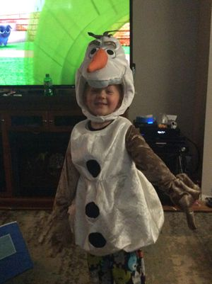 Olaf Halloween costume. Child's. for Sale in Columbus, OH