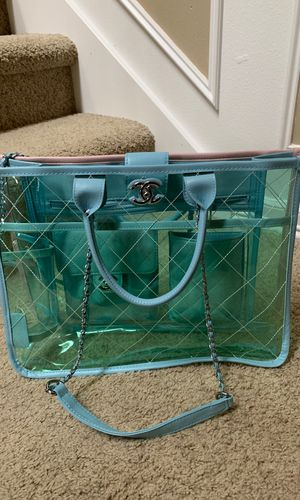 Chanel PVC splash bag $500 for Sale in Auburn, WA